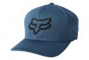 Casquette Fox Lithotype Flexfit 2.0 Bleu Foncé