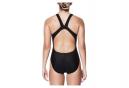 Nike Women's Swim Fastback One-Piece Swimsuit Black