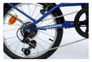 Moma Bikes, Vélo de Ville Pliant Compact 18 , SHIMANO 6V BLEU