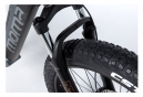 Moma Bikes VTT, FATBIKE 26 PRO, Equipped Full SHIMANO, Freins à disques Hydrauliques, Bat. Ion Lithium integrada 48V 13Ah / 160-195 cm