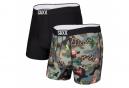 Pack de 2 Boxers Saxx Volt Tourist Camo Noir