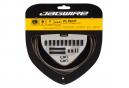 Jagwire 2x Sport Shift Kit Carbon Plateado