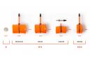 Tubolito MTB 27.5 '' Presta 42 mm inner tube