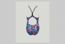 Scary One-Piece Swimsuit Multi-Coloured