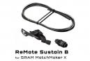 Wolf Tooth ReMote Rockshox Reverb B-Post Sram MatchMaker X Sattelstützensteuerung Schwarz