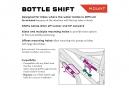 Support de Porte-Bidon Wolf Tooth B-RAD Bottle Shift Noir