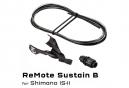 Tija de sillín Wolf Tooth ReMote Rockshox Reverb B-Post Shimano I-Spec II Shift Negro