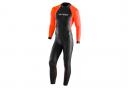 Orca OpenWater Hi-Vis Neoprene Suit Black / Orange