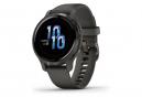 Reloj GPS Garmin Venu 2S gris oscuro / negro