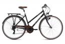 VTC Femme 28'' Venice guidon plat noir TC 48 cm KS Cycling