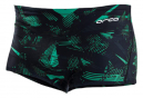 Orca Square Leg Swimsuit Black / Green