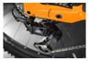 VTT Électrique Tout-Suspendu Haibike FullNine 10 Shimano SLX/XT 12V 625 Wh 29'' Noir Gris Titan Orange Lava 2021
