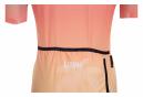 LeBram Damen Vence Celeste Orange Tailored Fit Kurzarmtrikot