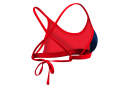 TYR Sandblasted mojave tieback women's bikini top Blue Red