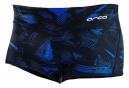 Orca Square Leg Swimsuit Black / Blue