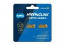 Enganche rápido KMC Missing Link 12NR Ti-N 12V Gold (x2)