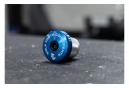 Tapón de Compresión Diente de Lobo con Tapa Espaciadora Integrada 1 1/8'' Azul