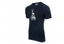 T-Shirt Manches Courtes LeBram Cerf Bleu Foncé