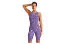 Women's Arena Powerskin ST 2.0 One-Piece Swimsuit Purple