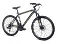 Moma Bikes Vélo VTT GTT26 5.0 Aluminium SHIMANO 24V Freins a Disque Suspension Avant