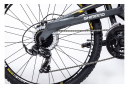 Moma Bikes Vélo VTT, EQX 26 5.0, Aluminium. SHIMANO 24V, Freins a Disque, Double Suspension