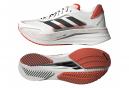 Zapatillas adidas running adizero Boston 10 para Hombre Blanco / Rojo