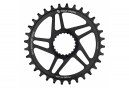 Wolf Tooth Direct Mount Chainring for Shimano Boost 3 mm Drop-Stop ST for Shimano HyperGlide+ 12S Black