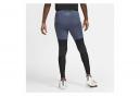 Collant Long Nike Dri-Fit Phenom Run Division Bleu
