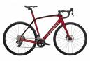 Vélo de Route Trek Domane SL 6 eTap 2022 Rouge Crimson / Noir