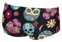 Arena Crazy Skulls Carnival Low-Waist Swimming Shorts