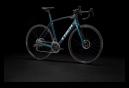 Trek Domane SL 6 eTap 2022 Rennrad Aquatic Blue / Satin Black