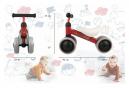 Trotteur - tricycle sans pédales de 0 à 3 ans