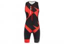 Santini X Ironman Cupio Sleeveless Trisuit Black / Red