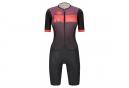 Santini X Ironman Viper Women's Short Sleeve Trisuit Black