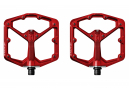 Pédales Plates CRANKBROTHERS STAMP 7 Rouge