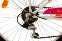 Vélo enfant 24'' Cherry Heart blanc-rose TC 36 cm KS Cycling