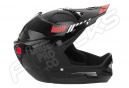 URGE BombAir FullFace Helmet Black Glossy
