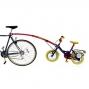 Trail Gator Tandem avec barre de remorquage de vélo enfant