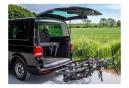 Porte-vélos Eufab Premium II Plus pour 2 vélos compatible ouverture grands hayons