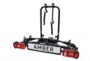Porte-vélos 2 vélos sur attelage plateforme AMBER II - PRO USER