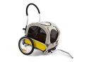 Remorque/poussette aluminium pliable pour chien Maxxus .