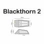 Tente Highlander Blackthorn 2 personnes
