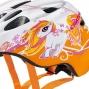 Casque enfant CRATONI Akino - Orange et blanc