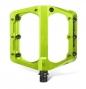 Pédales SIXPACK Millenium -AL - Electric Green