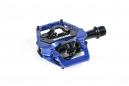 Pédales Sixpack-Racing Vertic (Q-Factor : 58.5mm) Couleur:Bleu