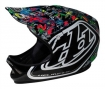 TROY LEE DESIGNS 2010 Full Face Helmet D2 History Composite Multi XS / S