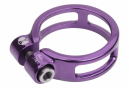 Collier de selle Box Helix 25.4mm Violet