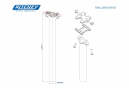 Seatpost Ritchey WCS Aluminum Recess 0mm Matt Black