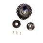 Moyeu Arrière 2en1 Easy Shift HxR Components SRAM XD 142x12 et 148x12mm 32 trous ROUGE