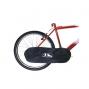 Housse de protection pour chaîne de vélo